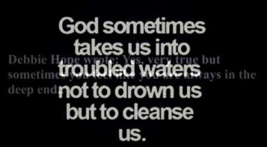 Donnie's Podcast – Troubled Waters
