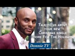 Kenny Lattimore shares about what sparked his Christmas CD