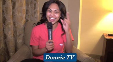 Briana Babineaux gives some funny bloopers and more