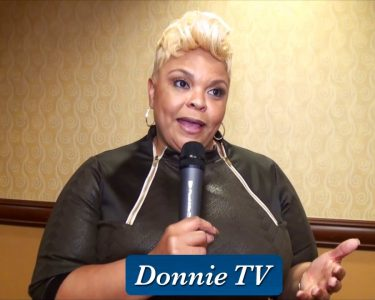 Tamela Mann talks about being with Kirk Franklin & The Family