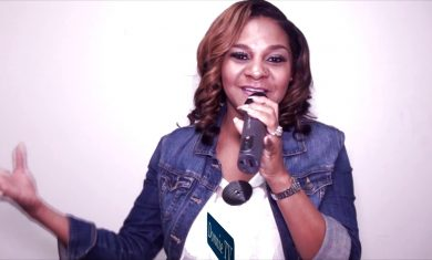 Isabel Davis shares a little background on how she started singing