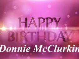 Donnie Birthday Week Day 1