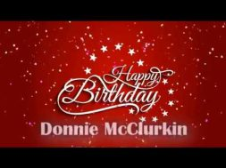 Donnie Birthday week Day 4 (Official B-day)