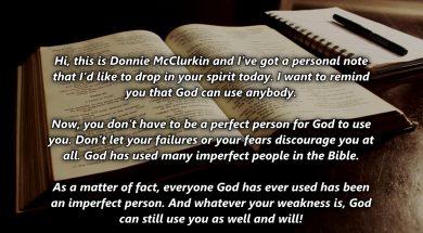God can use Anybody