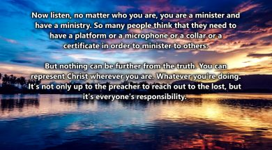Your Ministry