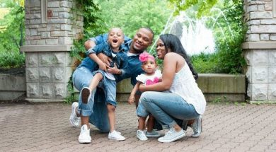 Todd Dulaney with a very special Father's Day