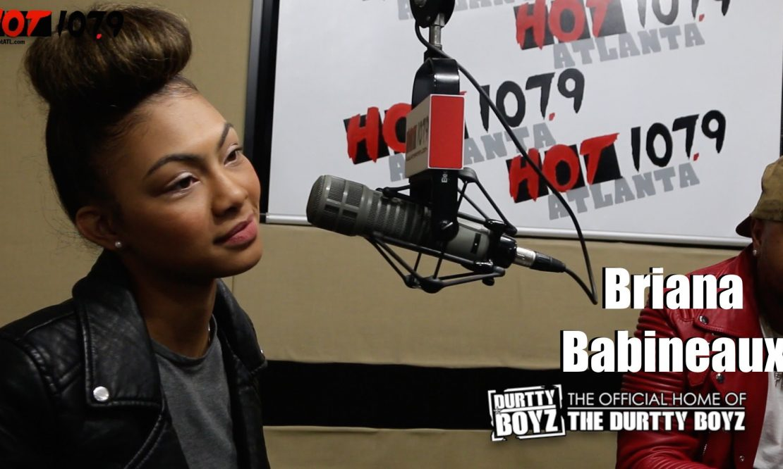 Crazy cool how Briana Babineaux ended up on The Durtty Boyz Show