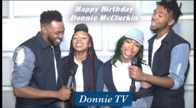 Donnie McClurkin 59th Birthday shout outs