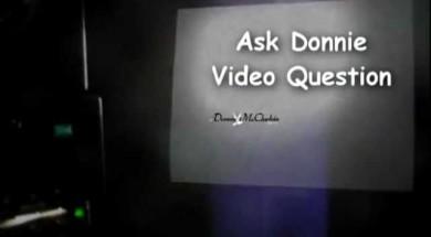 Donnie McClurkin Show question. Do you like dogs?