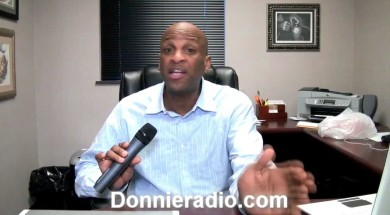 Donnie McClurkin Show Zoo question from cute Kiarra