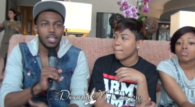 The Walls Group talk about how they hooked up w/ Kirk Franklin