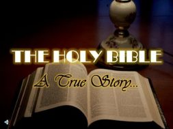 Word Of The Day – The Bible Is Real