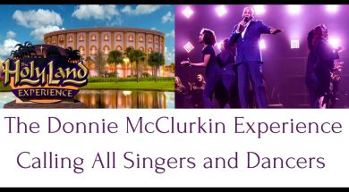 The Donnie McClurkin Experience: Calling All Singers and Dancers
