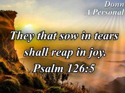 Reaping in Joy