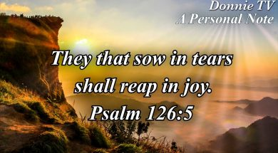 Reaping in Joy