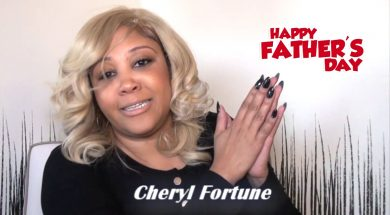 Cheryl Fortune & Isaiah Templeton give a wonderful Father's Day shout out