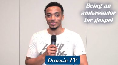 Jonathan McReynolds being ambassador of GOSPEL music