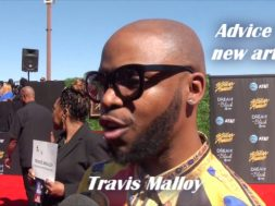 Travis Malloy giving great advice to up and coming artists