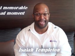 Isaiah Templeton gives a surprising most memorable road moment