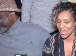 Great marriage advice from Isaiah D. Thomas with wife