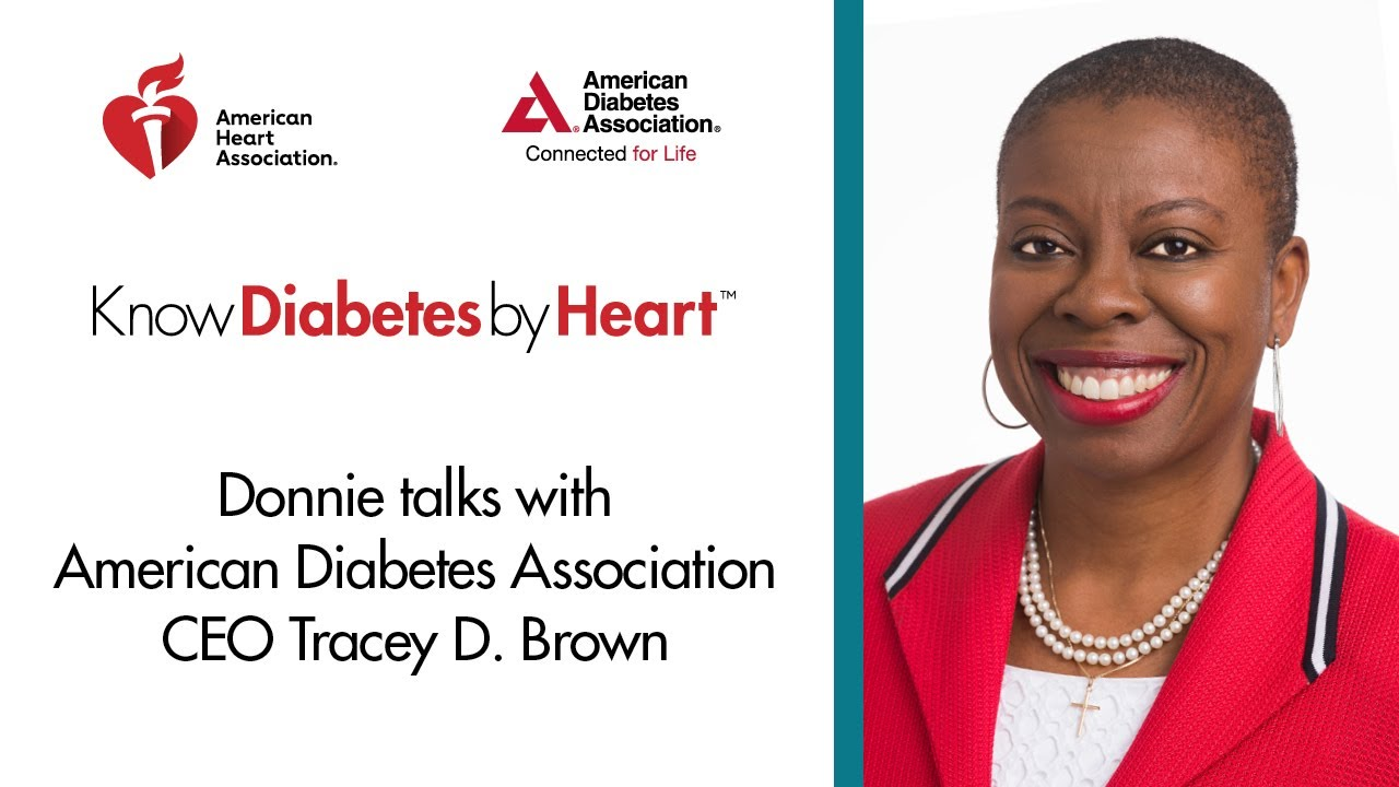 Tracey D. Brown CEO of the American Diabetes Association